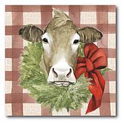 Courtside Market Christmas on the Farm III Canvas Wall Art