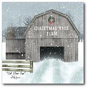 Courtside Market Christmas Tree Farm Canvas Wall Art