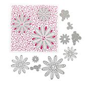 Crafter's Companion Blooming Daisies Chloe Cut and Emboss Set