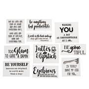 Crafter's Companion Quirky A Women's World Set of 10 Stamps