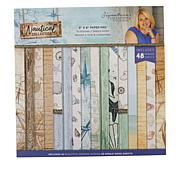 "Crafter's Companion Sara Signature 8"" x 8""  Nautical Paper Pad"