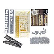 Crafter's Companion Sara Signature Papercraft Kit - Rustic Wedding