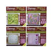 Crafter's Companion Sheena  Stencils - Botanicals