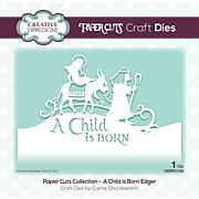 Creative Expressions Paper Cuts Edger A Child Is Born Craft Die