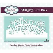 Creative Expressions Paper Cuts Edger Winter Wonderland Craft Die