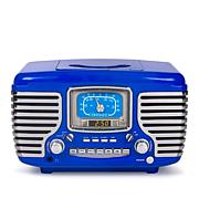 Crosley Corsair Bluetooth Alarm Clock Radio & CD Player