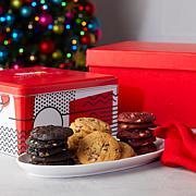 David's Cookies 54-piece Bite Sized Cookies in Tin