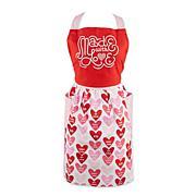 Design Imports Love Print Skirt Apron