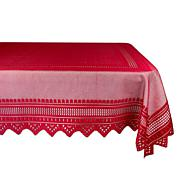 Design Imports Nordic Lace Tablecloth