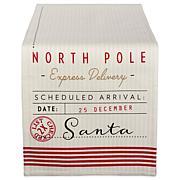 Design Imports Santas Workshop Christmas Reversible Table Runner