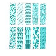 Diamond Press Basic 10-piece Embossing Folder Set