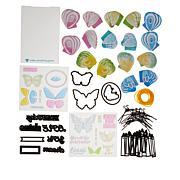 Diamond Press Butterfly Flying Card Kit