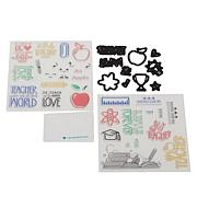 Diamond Press Teacher Stamp and Die Set