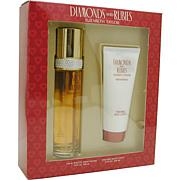 Diamonds & Rubies - Spray 3.3 Oz & Body Lotion 3.3 Oz