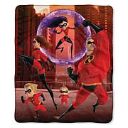 "Disney ""Incredibles 2"" Illustrated 50"" x 60"" Silk Touch Throw"