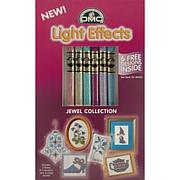 DMC Light Effects Floss Pack 8.7yd 6/Pkg - Soft Jewels
