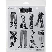 Dyan Reaveley's Dylusions Cling Stamp Collections 8.5X7 - Legs Eleven