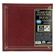 E-Z Load Postbound Album 12X12 - Burgundy