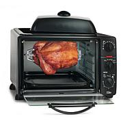 Elite Platinum Toaster Oven w/ Rotisserie, Convection & Griddle