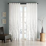 Madison Park Eliza Window Panel - White