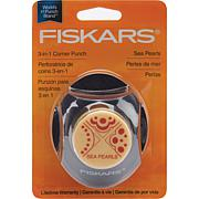 Fiskars 3-in-1 Corner Punch - Sea Pearls