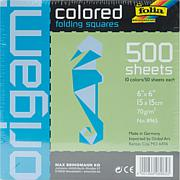 Folia Origami Paper 6X6 500-pack - Assorted
