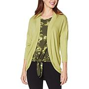 G by Giuliana EcoLuxe Knit Cocoon Cardigan