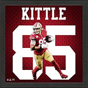 George Kittle Impact Jersey Framed Photo