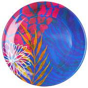 "Gibson Tropical Rains 4-piece 9"" Melamine Dessert Plate Set"