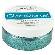 Gina K Designs Glitz Glitter Gel 2.3oz - Turquoise Sea