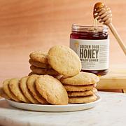 Golden Door Caramel Cookies and Wildflower Honey