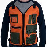 Happy Camper Nylon 7-Pocket Vest with Adjustable Straps