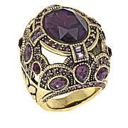 "Heidi Daus ""Age of Elegance"" Crystal Statement Ring"