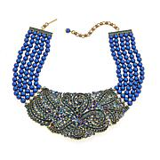 """Heidi Daus """"Couture in Bloom"""" 5-Strand Drop Necklace"""