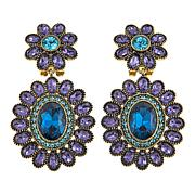 "Heidi Daus ""Dazzling Delight"" Crystal Drop Earrings"