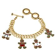"Heidi Daus ""Gingerly Gorgeous"" Charm Bracelet"