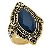 """Heidi Daus """"Marquise of Chic"""" Crystal Ring"""