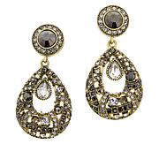 "Heidi Daus ""Perfect"" Crystal Drop Earrings"