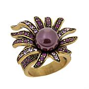 "Heidi Daus ""Sublime Star"" Crystal-Accented Ring"