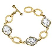 "Heidi Daus ""Suit Your Style"" Oval Line Bracelet"