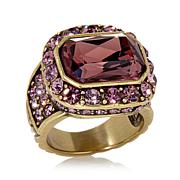 "Heidi Daus ""Tailored to Please"" Crystal Ring"