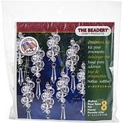 Holiday Beaded Ornament Kit - Iridescent Bubbles, Makes 8