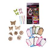 Hot Off The Press Floral and Butterfly Embellishments