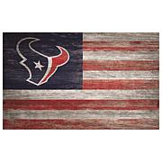 Officially Licensed NFL Distressed Flag 11x19
