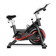 iDeaPLAY Silent Spinning Flywheel Exercise Bike