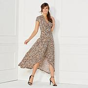 IMAN Global Chic Luxury Resort Maxi with Hi-Low Hem