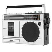 ION Audio Retro Rocker Boombox with Radio, Cassette Player & Bluetooth