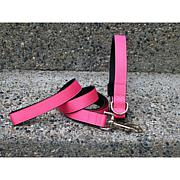Isabella Cane Pink Collar-Leash Set