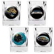 NFL 4pc Collector's Shot Glass Set