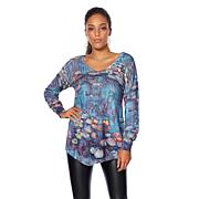 Jamie Gries Collection Artist Series Asymmetric Sweater